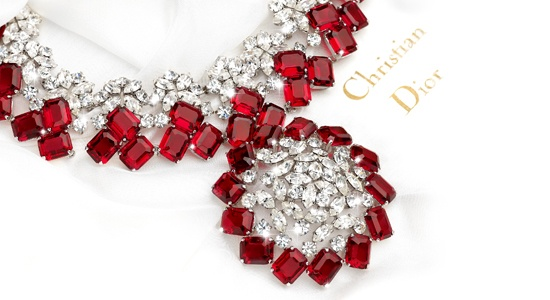 Could get away with it being a ruby and diamond necklace.....Fab!