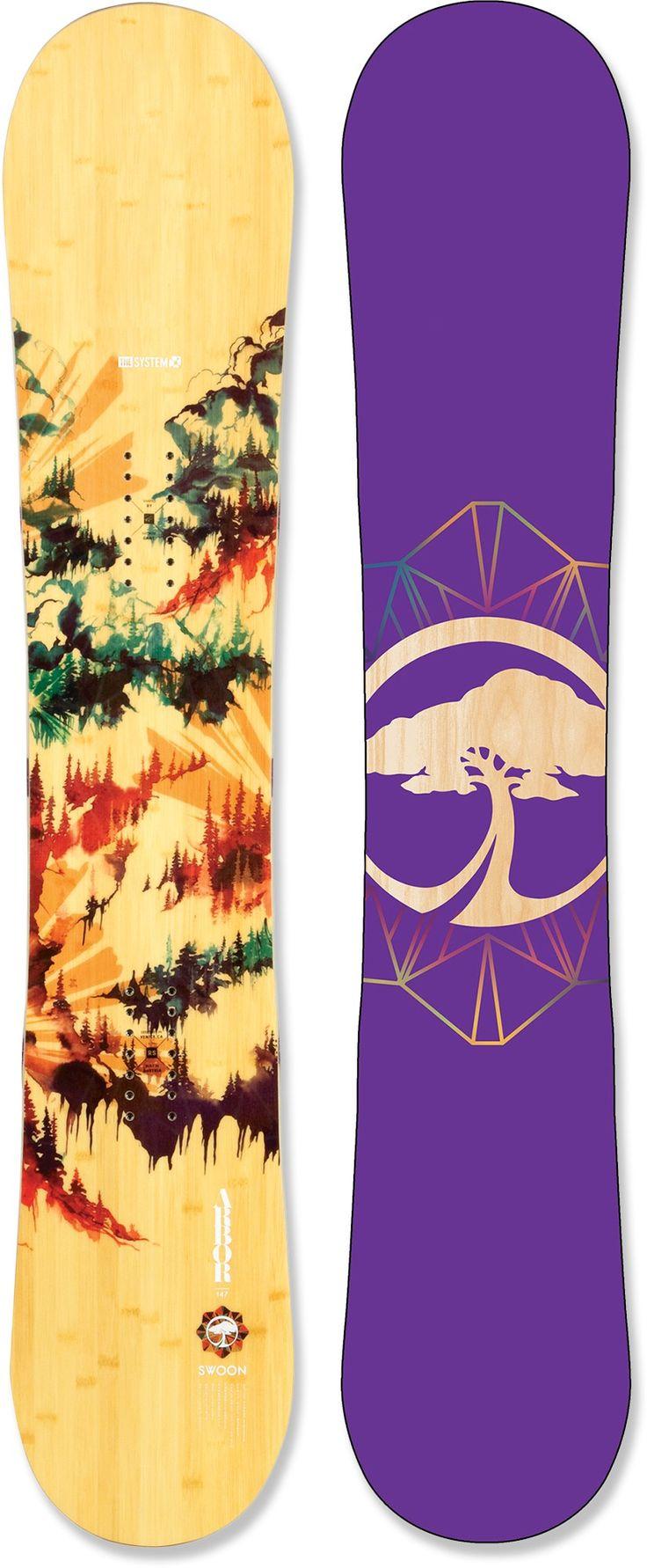 Arbor swoon snowboard women s 2013 2014 rei com