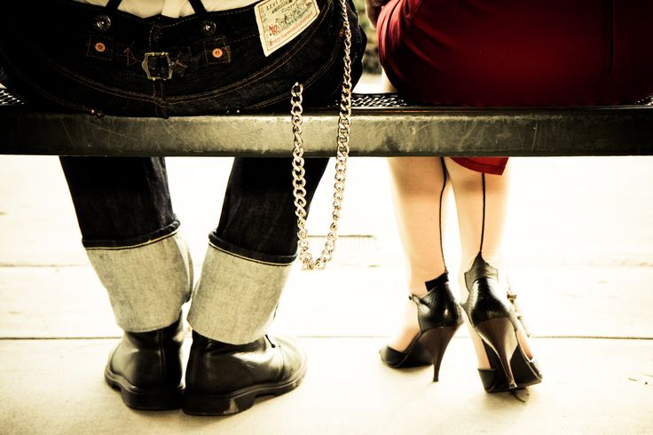 I would love to do this with Tomas wearing his firefighter boots/pants & me in a dress & fun heels :o)
