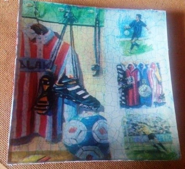 Football decoupage