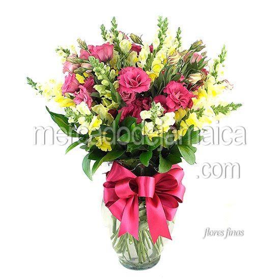 Florerias DF Lisianthus Rosa !| Envia Flores
