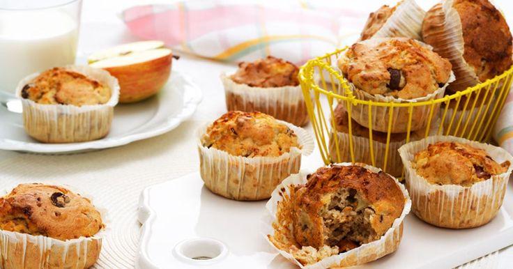 Dessa muffins är ett perfekt mellanmål före eller efter träning, gärna med mjölk. Fullkornsmjöl ger fibrer och cottage cheese i smeten ger en bra källa till protein.