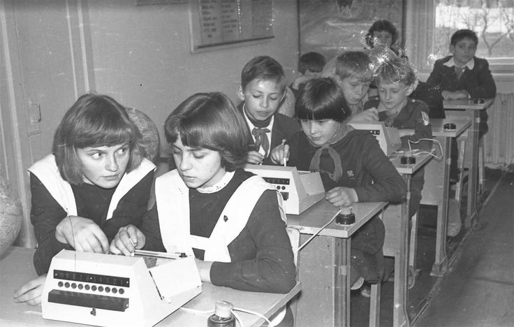 Young pioneers USSR, 1980s
