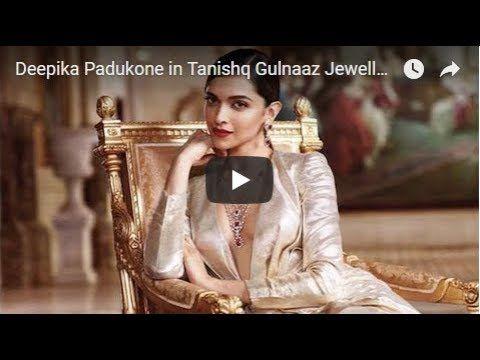 Deepika Padukone in Tanishq Gulnaaz Jewellery TV Ads ...