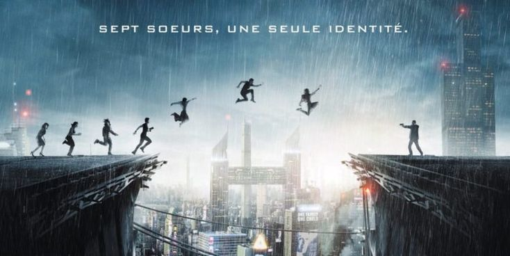 Seven Sisters: i character poster delle prime due gemelle