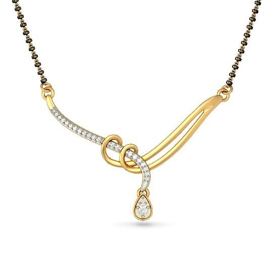 The Araina Tanmaniya | Diamond Tanmaniy In 18Kt Yellow Gold