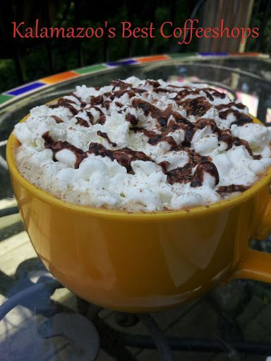 We recently moved to Kalamazoo, and I've been pleasantly surprised by the great local coffeeshops around! Some have more photos than others – I'll have to rectify that situation. Here are 5 of my favorites:
