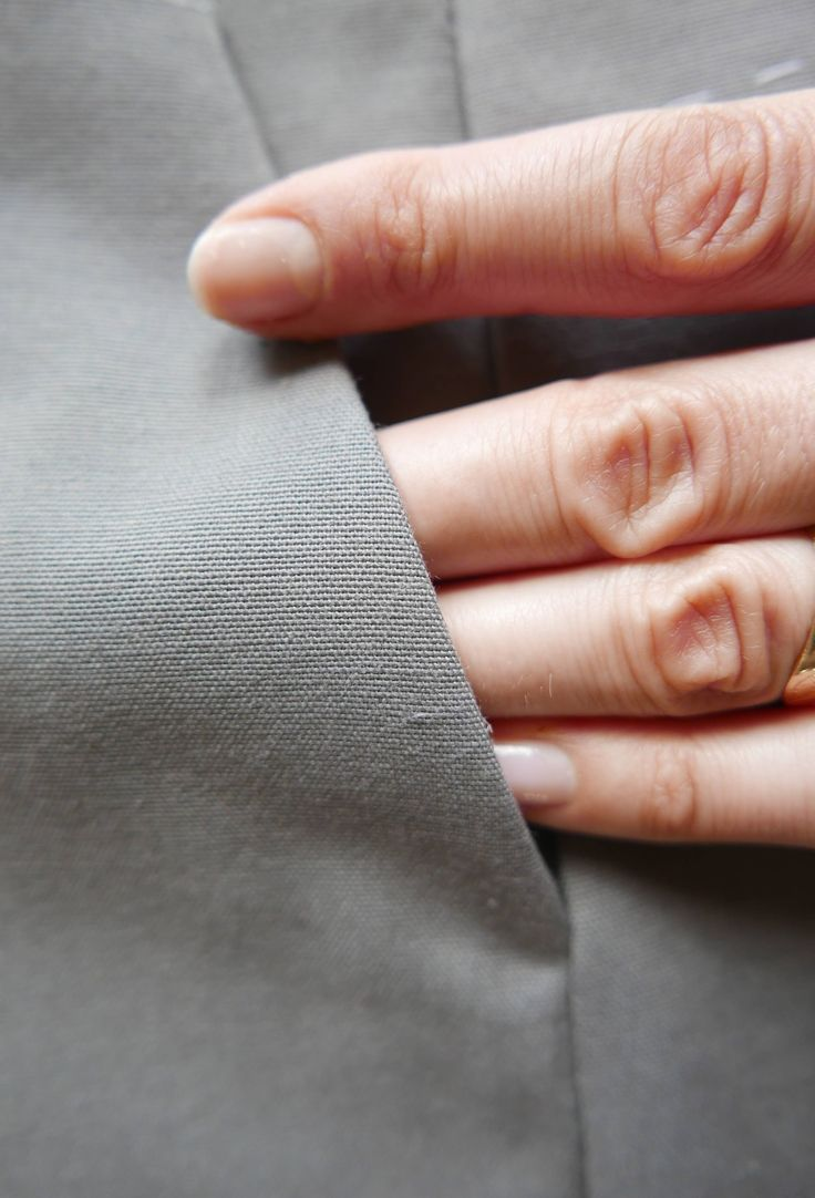 Tutorial para coser un bolsillo lateral de pantalon