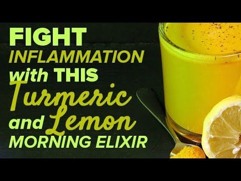 #HealthyLivingTips FIGHT Inflammation NATURALLY with This Turmeric & Lemon... #NaturalCure #Health