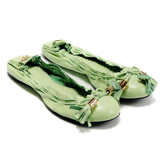 Tory Burch Apple Green Ballet Flat $148.88: Shoes, Ballet Flat, Tory Burch, Burch Flats, Green Flats, Toryburch, Ballerina Flats, Strawberry Green