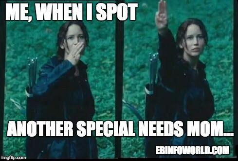 Me, when I spot another special needs mom... #EBawareness #EpidermolysisBullosa ebinfoworld.com