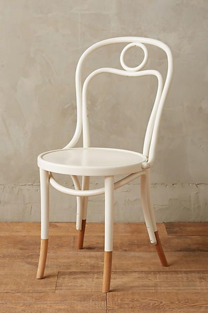 Anthropologie Scrolled Bentwood Dining Chair, Circle