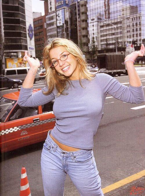 "When Britney Spears was still ""innocent"" HA"