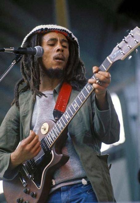 Bob Marley-  Mellowest man around.....