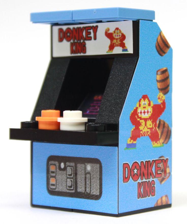 Custom LEGO Donkey King Arcade Machine