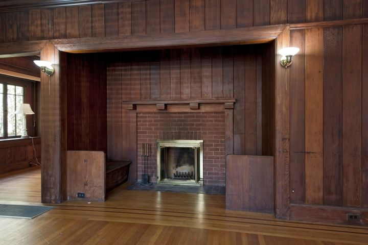 17 best images about craftsman style fireplaces on for Craftsman fireplace pictures