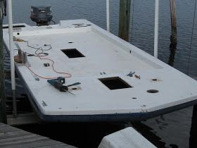 I built this  house boat on a Hurricane deck boat hull.I live in Florida and go north for  the summer. I will finish the interior when ...