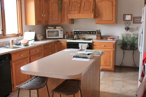 Best Kitchen Wall Color Ideas With Oak Cabinets Ziag Jpg 500 400 x 300