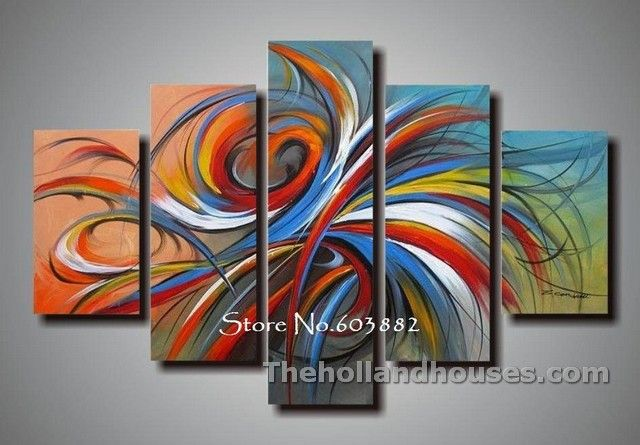 Cheap Framed Canvas Art Cheap Canvas Wall Art Colorful Abstract Painting Hand Painting Art