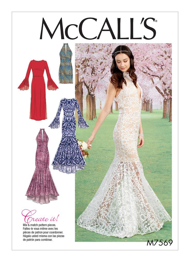 Best 25 formal dress patterns ideas on pinterest dress for Lace wedding dress patterns to sew