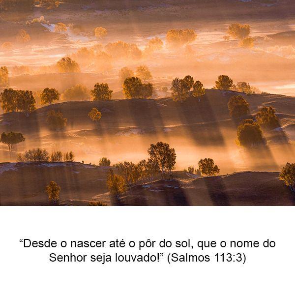 Temas Da Biblia Palavra De Deus Por Do Sol E Salmos