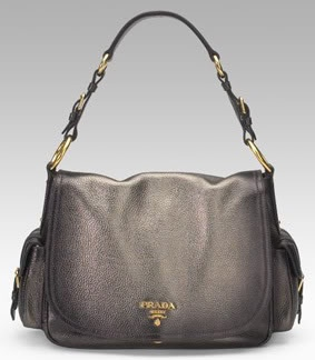 prada pink tote - Prada \u0026quot;Vitello Daino Flap Bag\u0026quot; Pebbled-finish calf leather flap ...