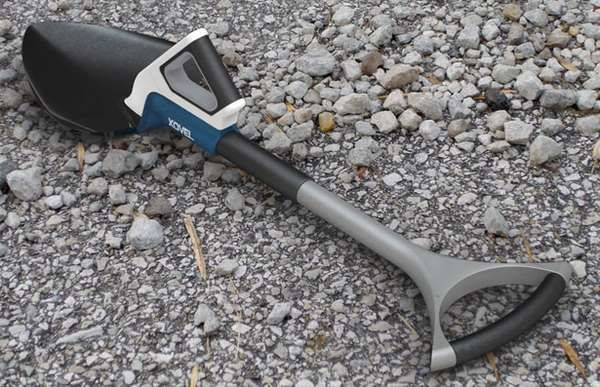 Dual Handled Diggers - The Xovel Shovel was Designed with Wrists in Mind (GALLERY)