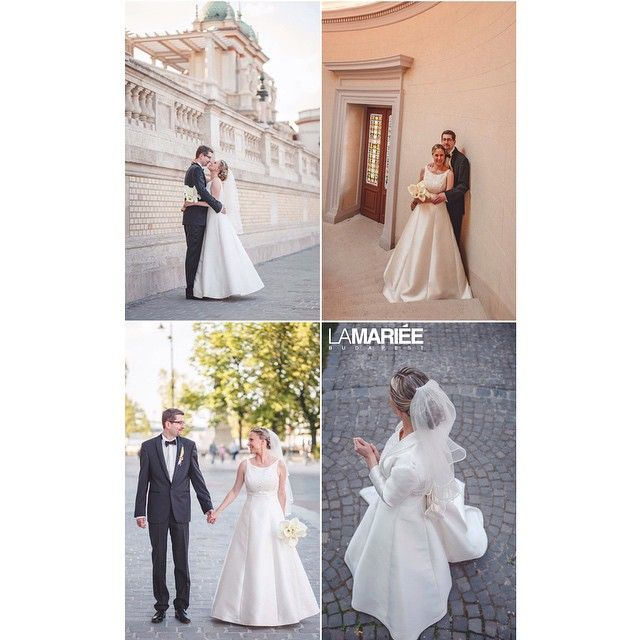 Real bride by La Mariée Budapest bridal #Magami dress by Pronovias #pronovias #weddinggown #weddingdress #bride #bridal #bridalgown #bridalshop #bridaldress #instapic #instalike #instabride...