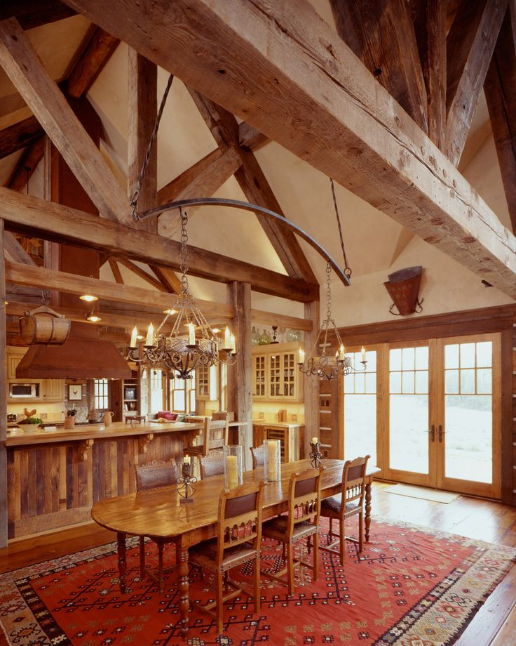 25+ Best Ideas About Exposed Rafters On Pinterest
