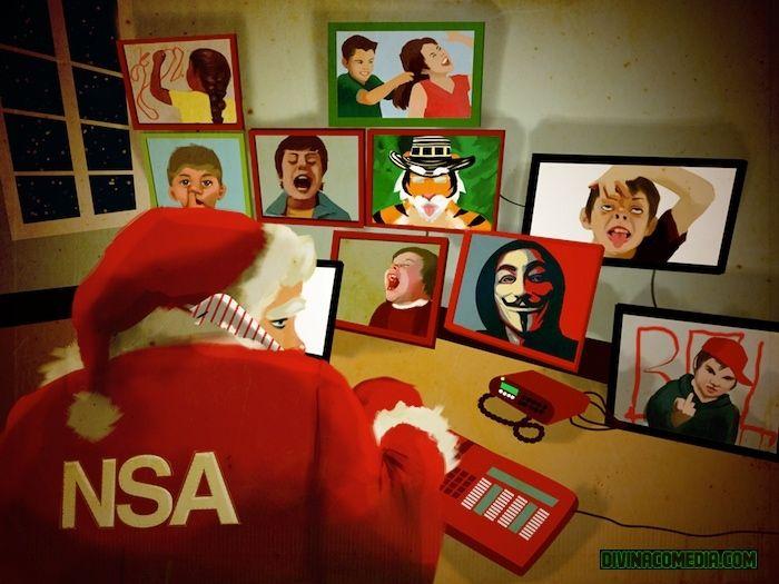 EL SECRETO TERRORÍFICO DE PAPÁ NOEL | #NSA #Navidad #Blog