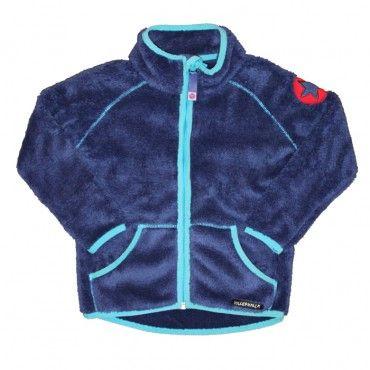 Villervalla Dark Blueberry Pile Fleece Jacket