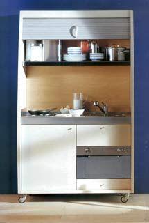 galleria foto cucine piccole a scomparsa foto 9