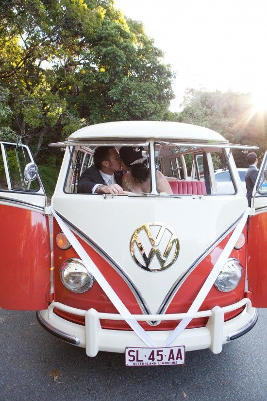 Arrive at your wedding NOOSA style!