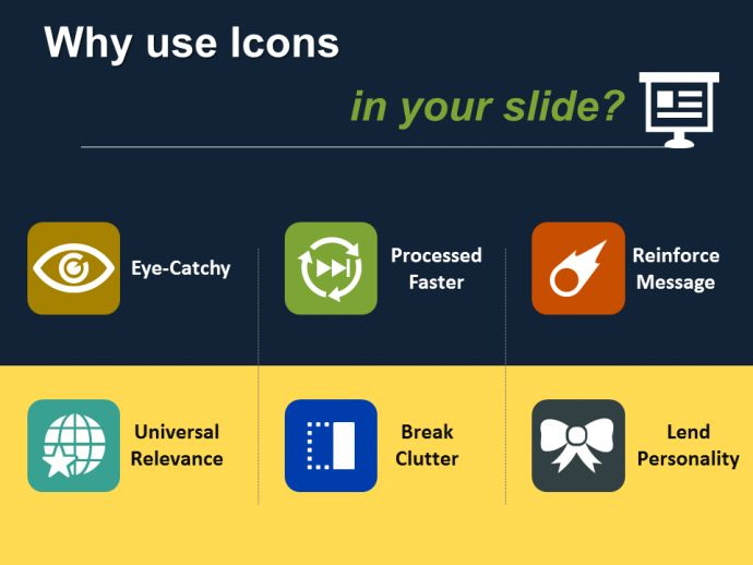 Advantages of Using Icons in your Designs