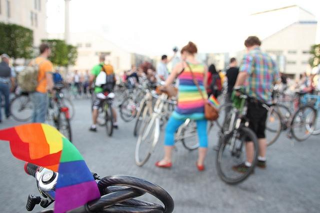Rainbow ride by vera kisel, via Flickr