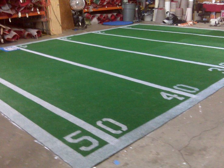 Custom Football Field Carpet Logo Carpets Pinterest