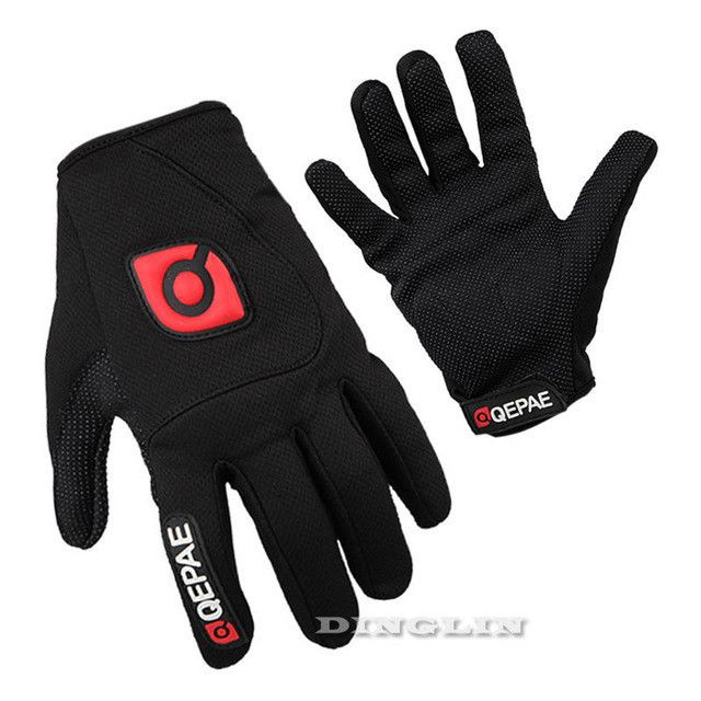 GZDL Windproof MTB Motorcycle Ciclismo Road Bike Racing Cycling Bicycle Full Finger Gloves Gel Breath able Outdoor MTB9012