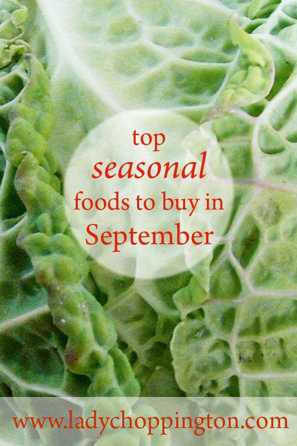 Top seasonal foods to buy in September: http://bit.ly/2bZVVaz