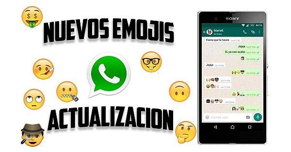 Nuevos Diseños y Emojis en Actualización WhatsApp 2016 - http://www.chatapps.es/nuevos-disenos-y-emojis-en-actualizacion-whatsapp-2016