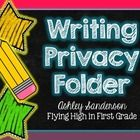 Find all the resources you need to make writing privacy folders for your students. These privacy folders allow students to focus on their work and ...