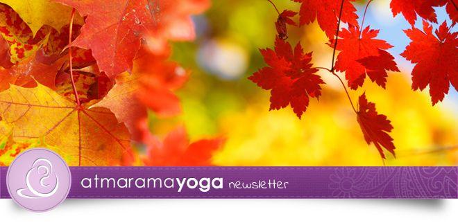 atmarama yoga Newsletter (10/2014)