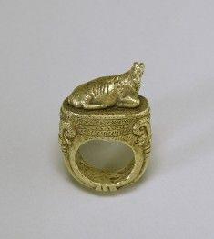 13-14 century BC - Ring with Reclining Ram