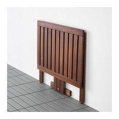 ÄPPLARÖ Gateleg table for wall, outdoor  - IKEA