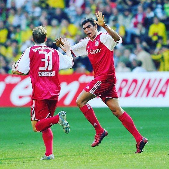 Lucio was a proper player   #fcbayern #bayern #lucio #bastianschweinsteiger #schweinsteiger #intermilan #inter #footballshirtcollective #brasil #bayernmunich #bayernmunchen