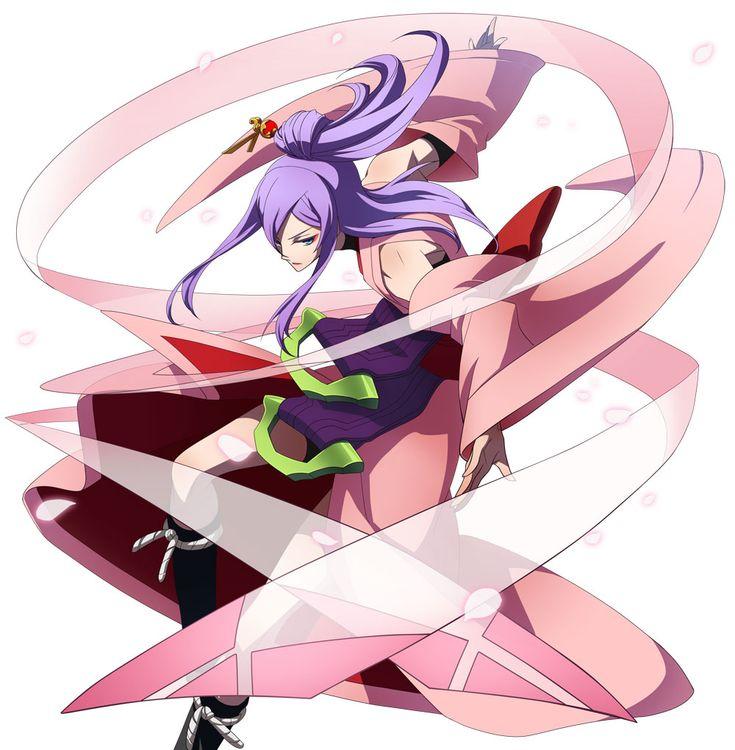 Amane Nishiki from BlazBlue: Chrono Phantasma