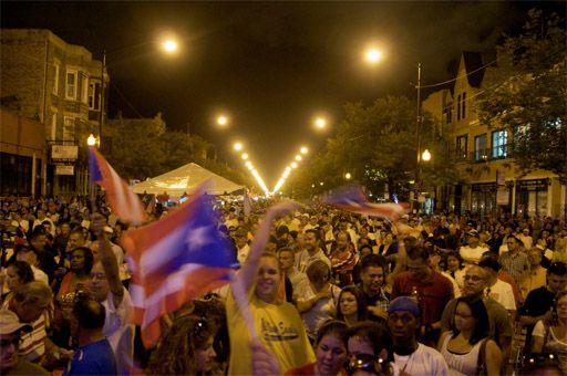 De bandera a bandera, Chicago celebró su Fiesta Boricua 2011 | La ...