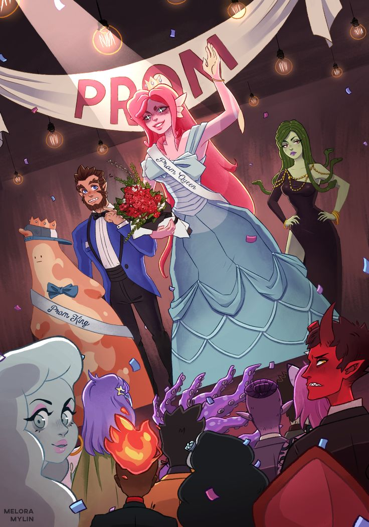 """""""Monster Prom"""" by meloramylin in 2019 Monster prom, Prom"""
