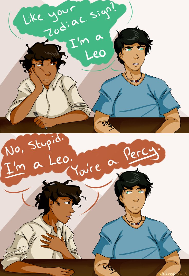 i can't believe this actually happened<<<I think Percy ate too much pizza