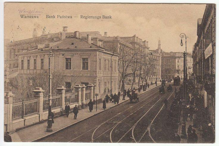 Warszawa  ul. Bielańska 1916 (115)