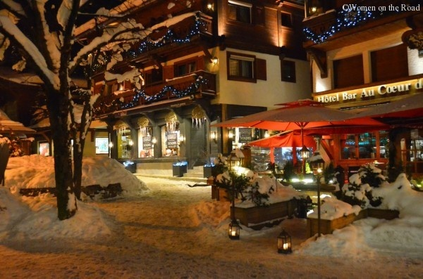 Megeve in winter